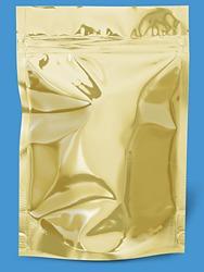 Sac en mylar doré de 6 x 9 pouces / 15 x 22 cm