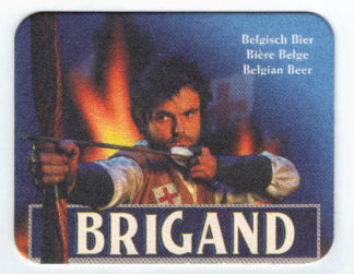 Sous-verres rectangle de Brigand
