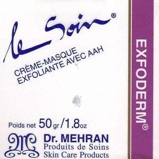 Exfoderm ® - Crème-masque exfoliante avec AAH