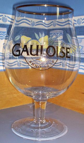 Verre jéroboam Gauloise