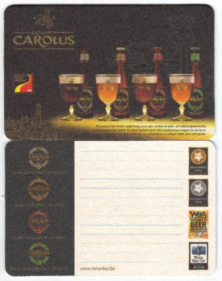 Sous-verres rectangles de la Gouden Carolus