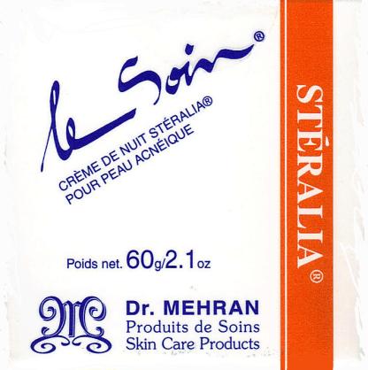 Stéralia ® La crème de nuit pour peau acnéique