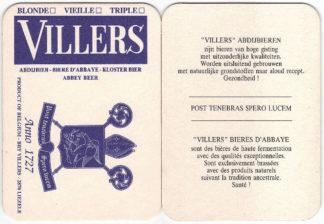 Sous-verres Villers