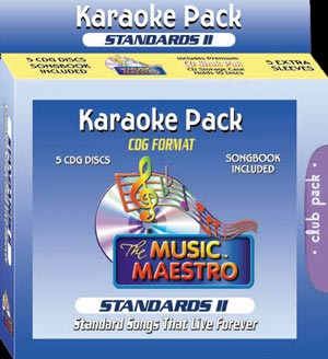 Music Maestro CPSII5 - Club Pack Standards II