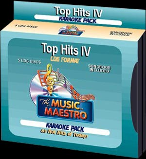 Music Maestro CPTHIV - Club Pack Top Hits IV