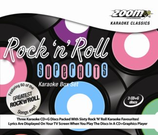 Zoom Karaoke RNRSH - Rock N Roll Superhits - 3 Albums Kit