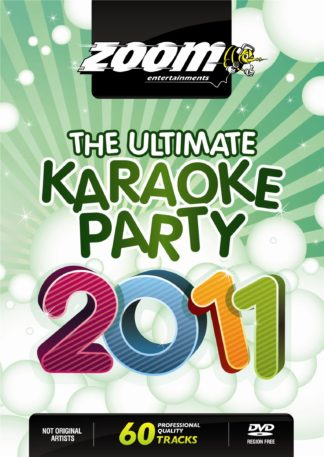 Zoom Karaoke ZDVD2016 - The Ultimate Karaoke Party 2011 - 2 DVD Albums Kit