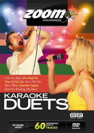 Zoom Karaoke ZDVD2017 - Karaoke Duets - 2 DVD Albums Kit
