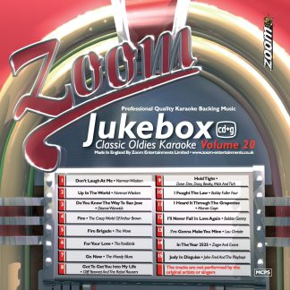 Zoom Karaoke ZJB20 - Jukebox Classic Oldies - Volume 20