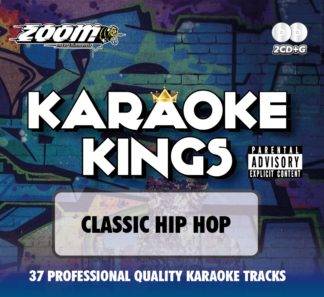Zoom Karaoke ZKK01 - Kings Volume 1 - Classic Hip Hop - 2 Albums Kit
