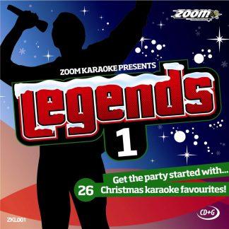 Zoom Karaoke ZKL001 - Legends 1 - 26 Christmas karaoke favourites!