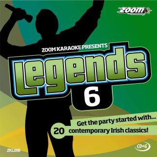 Zoom Karaoke ZKL006 - Legends 6 - Contemporary Irish classics!