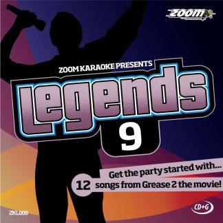 Zoom Karaoke ZKL009 - Legends 9 - Songs from Grease 2 the movie!
