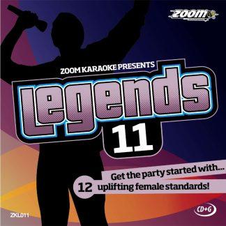 Zoom Karaoke ZKL011 - Legends 11 - Susan Boyle - 12 Uplifting female standards!