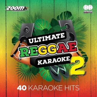 Zoom Karaoke ZMREG02 - Ultimate Reggae 2 - 2 Albums Kit