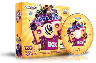 Zoom Karaoke ZPBX1CDG - Pop Box 1 - 6 Albums Kit