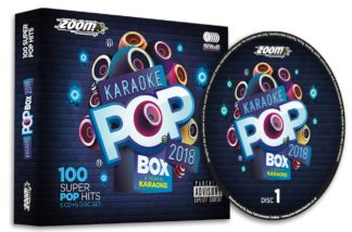 Zoom Karaoke ZPBX2018 - Pop Box 2018: A Year in Karaoke - 5 Albums Kit
