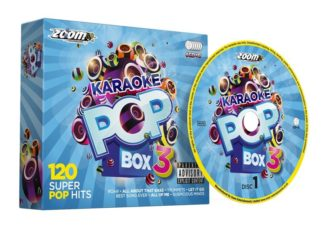 Zoom Karaoke ZPBX3CDG - Pop Box 3 - 6 Albums Kit