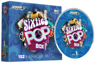 Zoom Karaoke ZPBX60S - Sixties Pop Box - 6 Albums Kit