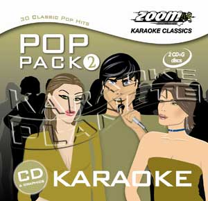 Zoom Karaoke ZPP02 - Pop Pack 2 - 2 Albums Kit