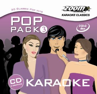 Zoom Karaoke ZPP03 - Pop Pack 3 - 2 Albums Kit