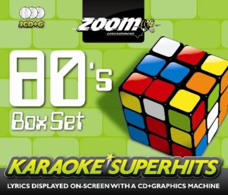 Zoom Karaoke ZSH002 - 80's Superhits Pack - 3 Albums Kit