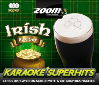 Zoom Karaoke ZSH005 - Irish Superhits Pack - 3 Albums Kit