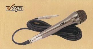 Microphone avec câble détachable