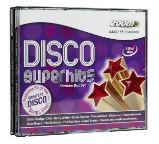 Zoom Karaoke CDZMPK07 - Disco Superhits Pack - 3 Albums Kit