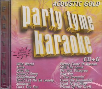 Party Tyme SYB1042 - Acoustic Gold