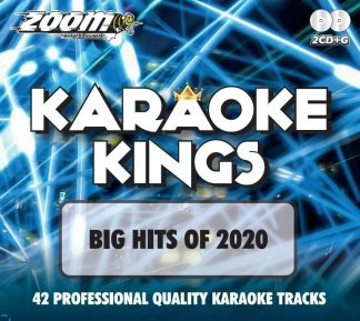 Zoom Karaoke ZKK03 - Kings Volume 3 - Big Hits of 2020 - 2 Albums Kit