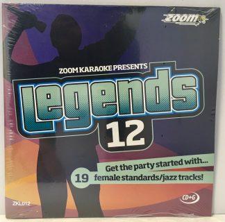 Zoom Karaoke ZKL012 - Legends 12 - Eva Cassidy - 19 Female standards/jazz tracks!