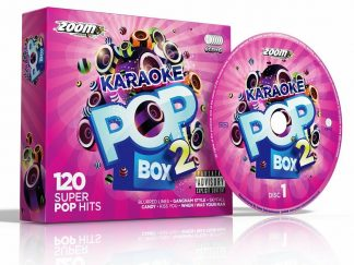 Zoom Karaoke ZPBX2CDG - Pop Box 2 - 6 Albums Kit