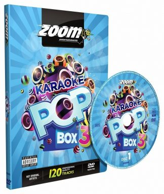 Zoom Karaoke ZPBX3DVD - Pop Box 3 - 4 Albums Kit