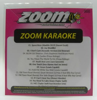 Zoom Karaoke ZPCP2019IV - Pop Chart Picks 2019 Part 4