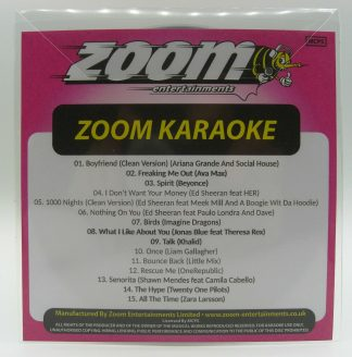 Zoom Karaoke ZPCP2019VI - Pop Chart Picks 2019 Part 6