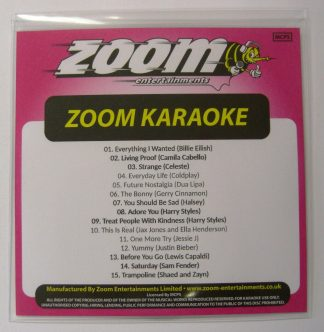 Zoom Karaoke ZPCP2020I - Pop Chart Picks 2020 - Part 1