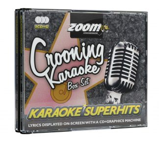 Zoom Karaoke ZSH010 - Crooning Superhits - 3 Albums Kit