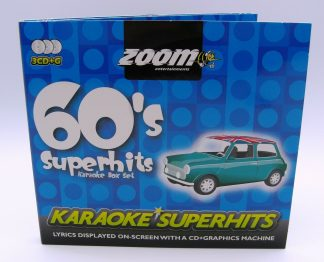 Zoom Karaoke ZSH012 - 60's Superhits - 3 Albums Kit
