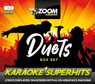 Zoom Karaoke ZSH014 - Duet Superhits - 3 Albums Kits