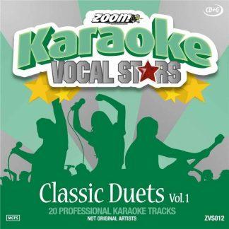Zoom Karaoke ZVS012 - Classic Duets - Volume 1