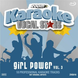 Zoom Karaoke ZVS016 - Girl Power - Volume 3