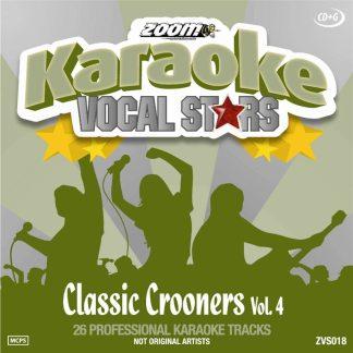Zoom Karaoke ZVS018 - Classic Crooners - Volume 4