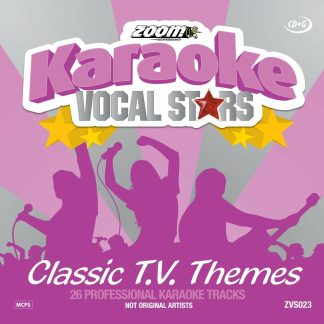 Zoom Karaoke ZVS023 - Classic T.V. Theme