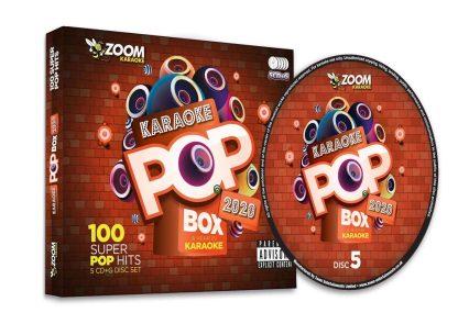 Karaoke ZPBX2020 Pop Box 2020 - 5 Albums Kit