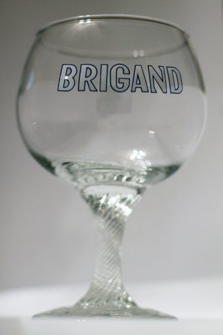 Verre Brigand à pied torsadé