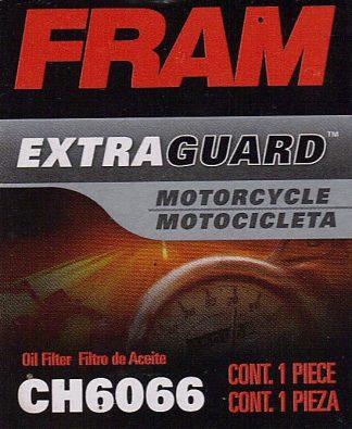 Fram CH6066 Filtre à huile de motocyclette
