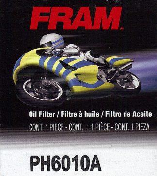 Fram PH6010A Filtre à huile de motocyclette