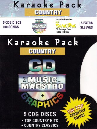 Music Maestro CPC - Karaoke Pack Country