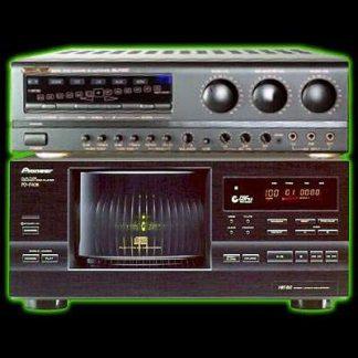 Système professionnel pouvant contenir environ 1 500 chansons de karaoké